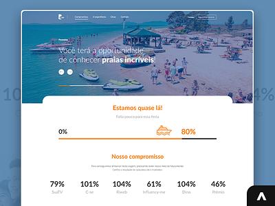 Campanha Navio Comunique-se landing page projeto portfolio jobs job digital uxui uxdesign uidesign designer xd uiux photoshop design art adobexd ux ui web layout design