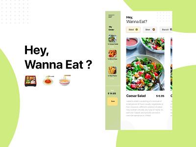 Hey, Wanna Eat? android ios user interface foodapps apps design food ux ui design ui