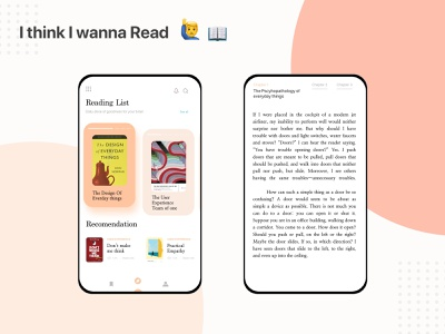 Article or Book Exploration, I think I wanna Read book uidesign user experience read article blog ios uiux ui