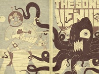 Sons of Venus: Book cover fold out concept.