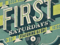 First Saturday Poster