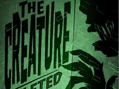 Some Vintage Illustration Fun horror monster poster illustration design