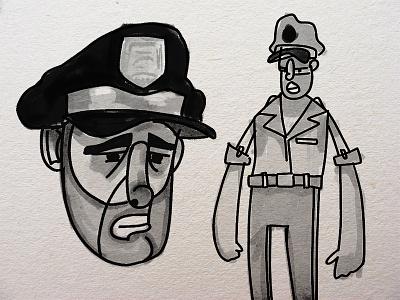 Character Study twilight zone animation character illustration design