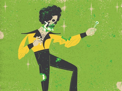 Undead Disco movie disco dance character design