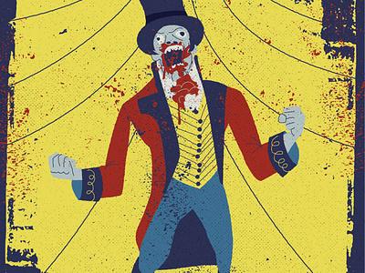 Last of the Zombie Movie Trivia Posts texture movie zombir character illustration ill design