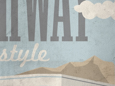 Vintage Road Map By RaiseNoChicken Dribbble - Antique road maps