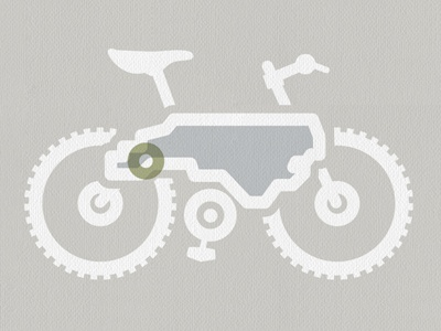 Mountain Bike Logo bike logo design north carolina illustration