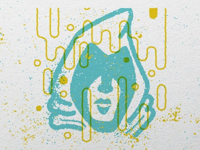 Hooded Figure cult spooky hood character post blog illustration design