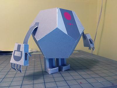 Paper PJ Mask Robot 3d character pj mask paper design
