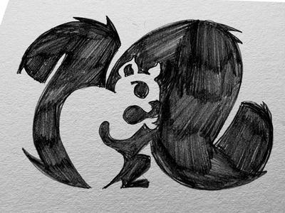 """Squirrel """"n"""" Logo"""