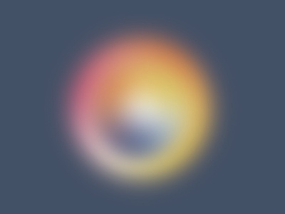sphere gradient background yellow pink sphere soft gradient illustrator design