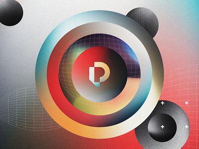 Pait Group System Exploration identity system vector noise gradient agency logo web design design creative direction branding