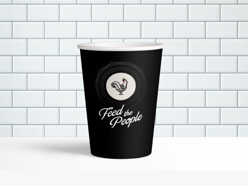 Cl paper cup mockup