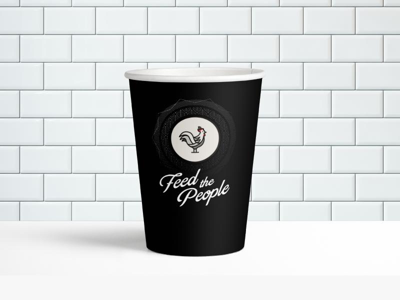 Cl paper cup mockup
