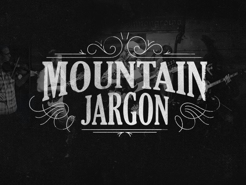 Mtn Jrgn logo texture typography