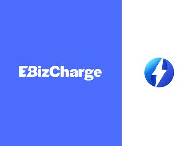 EBiz 1 brand identity brand agency bolt custom type icon logo branding