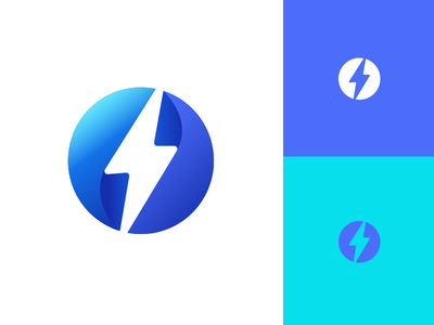 Bolt design creative direction icon logo branding