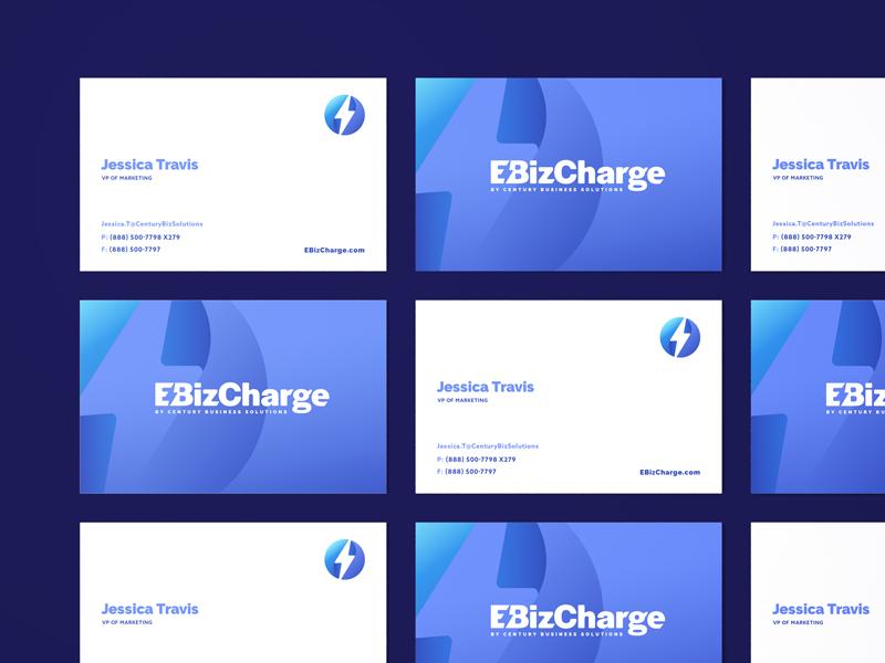 EBiz Cards branding agency business cards design icon logo branding