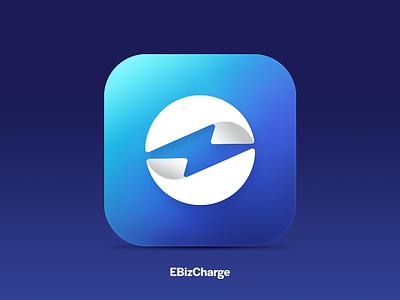 EBiz App Icon agency identity design branding gradient icon app icon