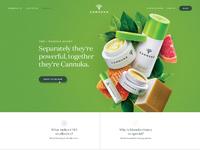 Cannuka homepage