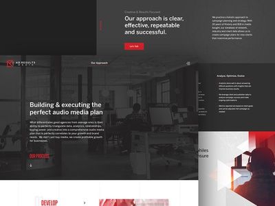 Ad Results Media V2 Internal pages agency web design creative direction