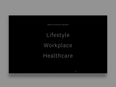 M3Design AOF Detail typography animation ux art direction agency design creative direction web design