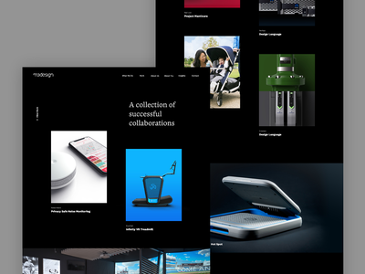 M3 Design Case Study Index ui ux typography minimal art direction animation agency design creative direction web design