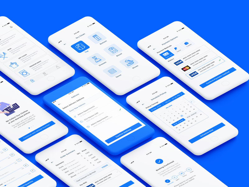 Laundry.io laundry app ux case study ux strategy ux research ux design