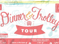 Dinner & Troller Tour ticket