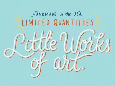 Little works of art hand lettering art drawing lettering