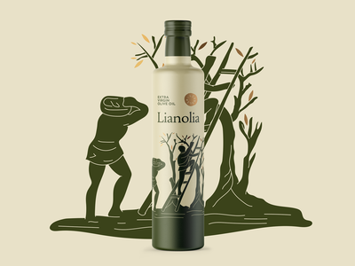 Lianolia Olive Oil Packaging