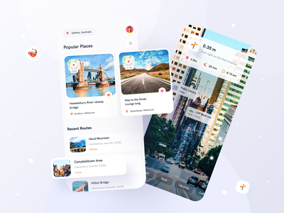 Tripexpo Tour Guide AI Apps travel animation travel animation tourist travel kit app uiux layout tickets minimalist appui travel guide traveling tour guide