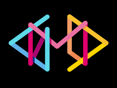 DMD DigitalMediaDesign Logo multicolor logo