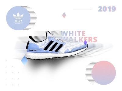 Adidas X GoT - White Walkers Yeezy