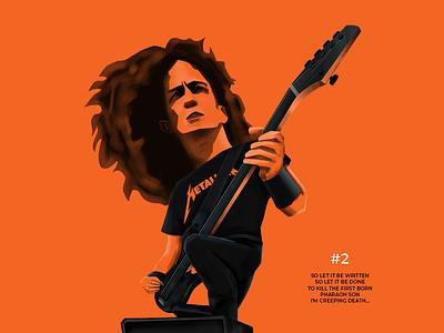 JASON NEWSTED design illustration