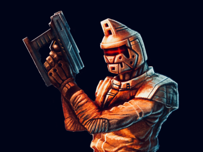 Space Soviet Trooper