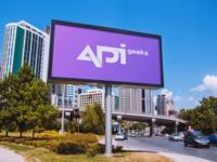 APIgeeks billboard outdoor mockup