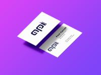 Business card design for APIgeeks