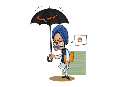 .... Speechless! sketch character funny politics indian sketches cartoons toons political