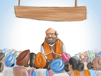 Amit Shah Addressing People