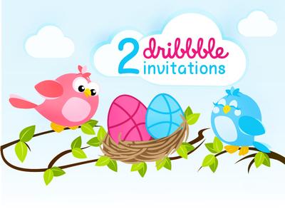 Illustration-Dribble Invites
