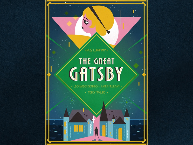 The Great Gatsby Poster Design By Dilara Karakas On Dribbble