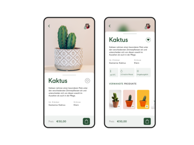 Product Page - Concept