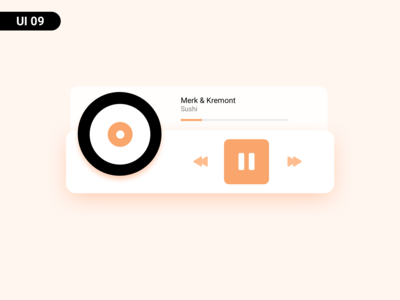 music player - UI09