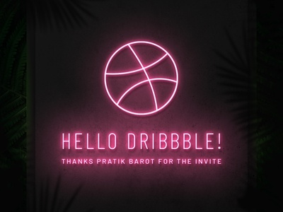 Hello Dribbble!