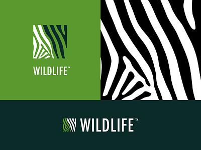 Wildlife Logo Identity 5/30 texture animal wildlife type challenge thirty logos thirtylogoschallenge thirtylogos logo icon graphicdesign design
