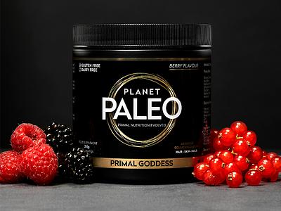 Planet Paleo Primal Goddess minimal design brand