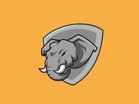 Elephant logo concept