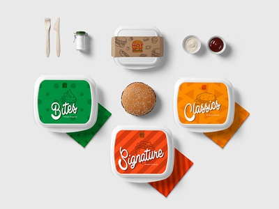 Packaging Design | Hotspot Restaurant design food packaging design food packaging food identity design branding