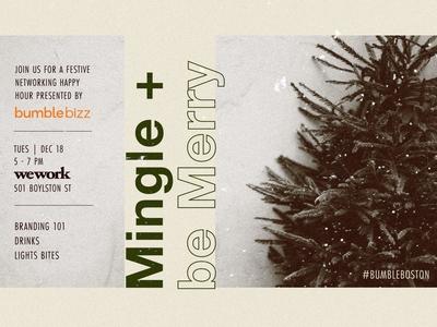 Mingle + Be Merry